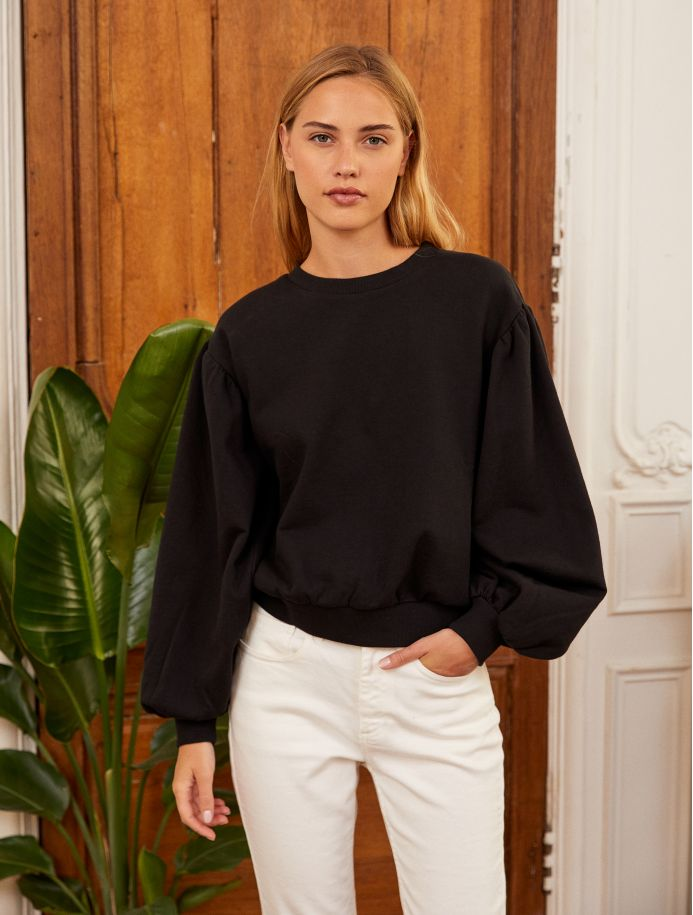 Noir Mathis sweatshirt