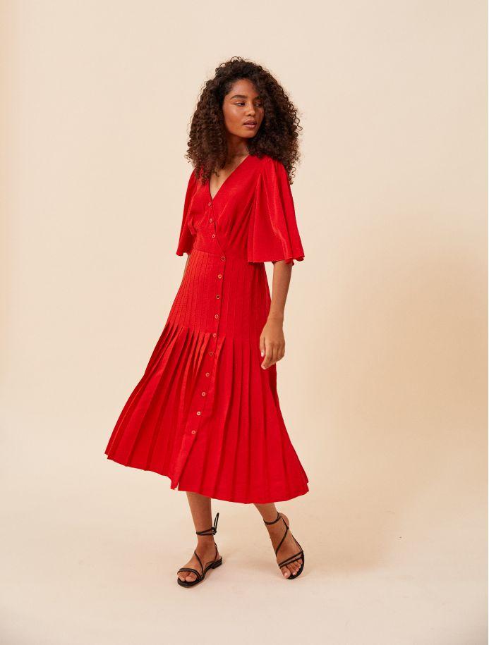 Brique Tiago dress