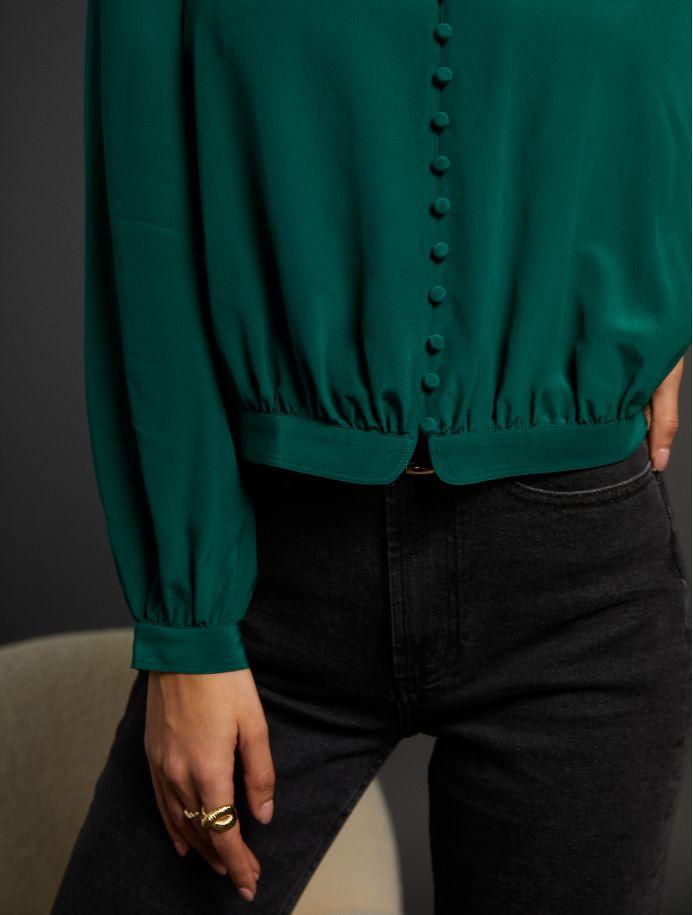 Émeraude Romance shirt