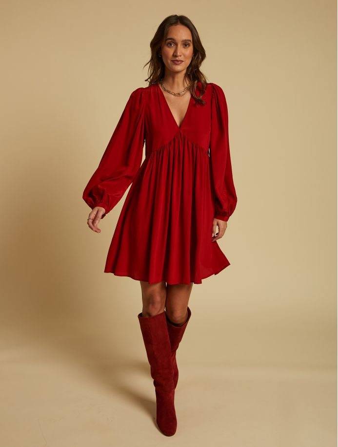 Carmin Rosalie dress