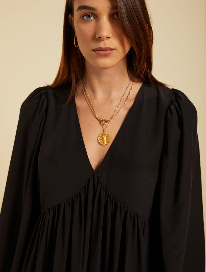 Noir Rosalie dress