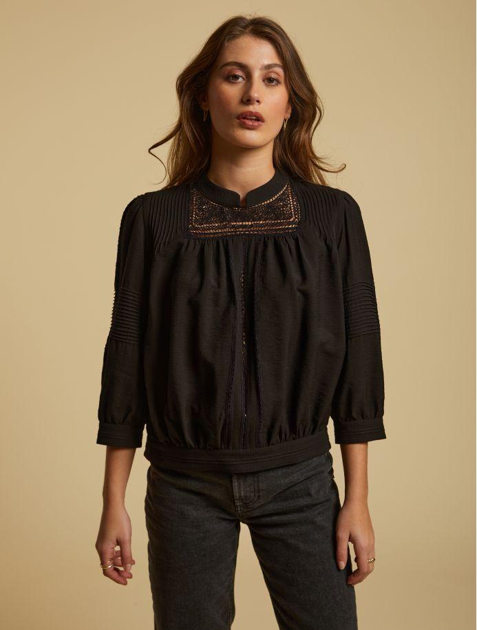 Noir Elfie blouse