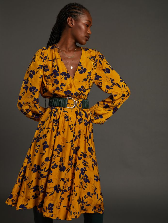 Or Jacinthe dress