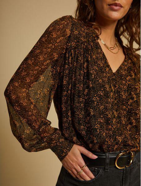 Noir Florianne shirt