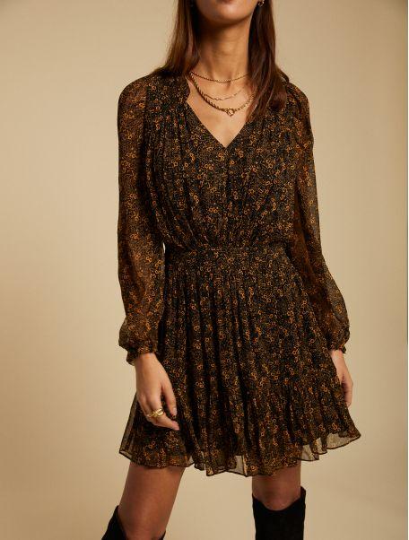 Noir Faustine dress