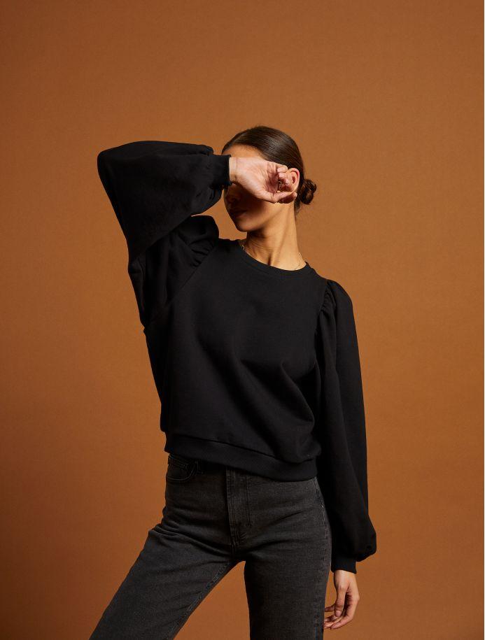 Noir Xabina sweatshirt