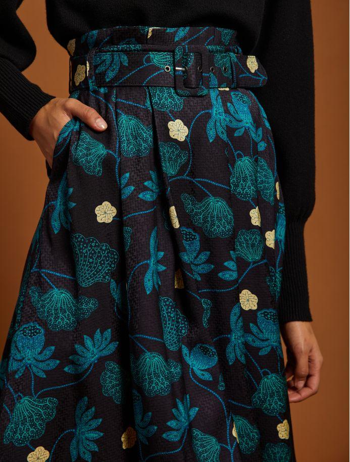 Noir Dorinne skirt