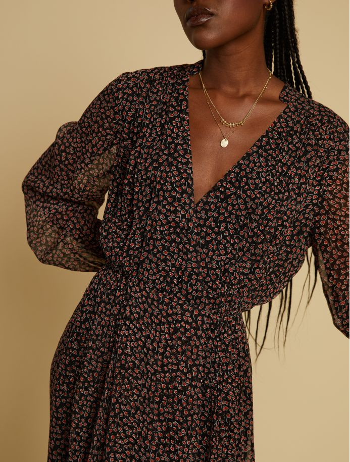 Noir Sabine dress