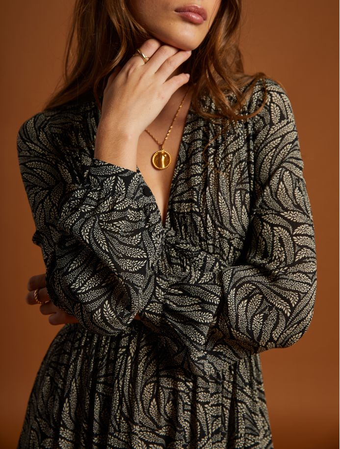 Noir Berfine dress