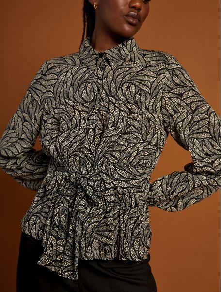 Noir Beatrix shirt