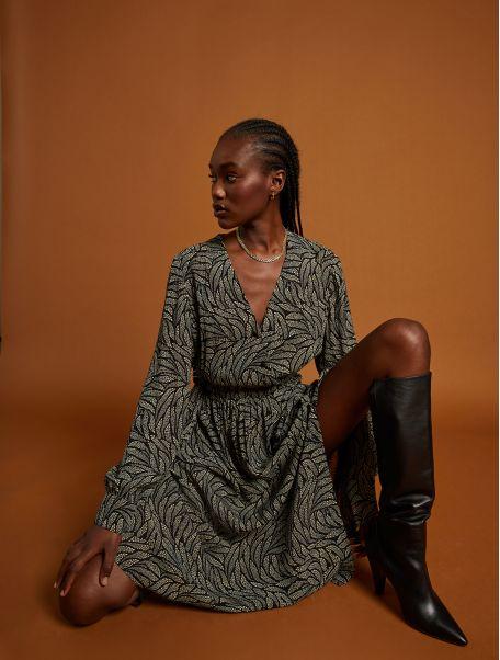Noir Brunella dress