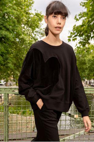 Noir Zita sweatshirt Idano