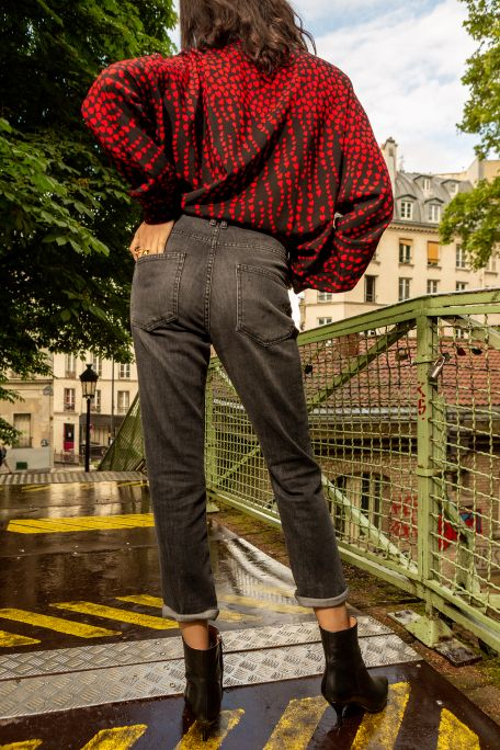 Denim grey Polina jeans Idano