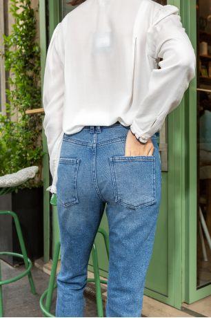 Denim blue Polina jeans Idano