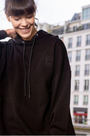 Noir Yolene sweatshirt Idano