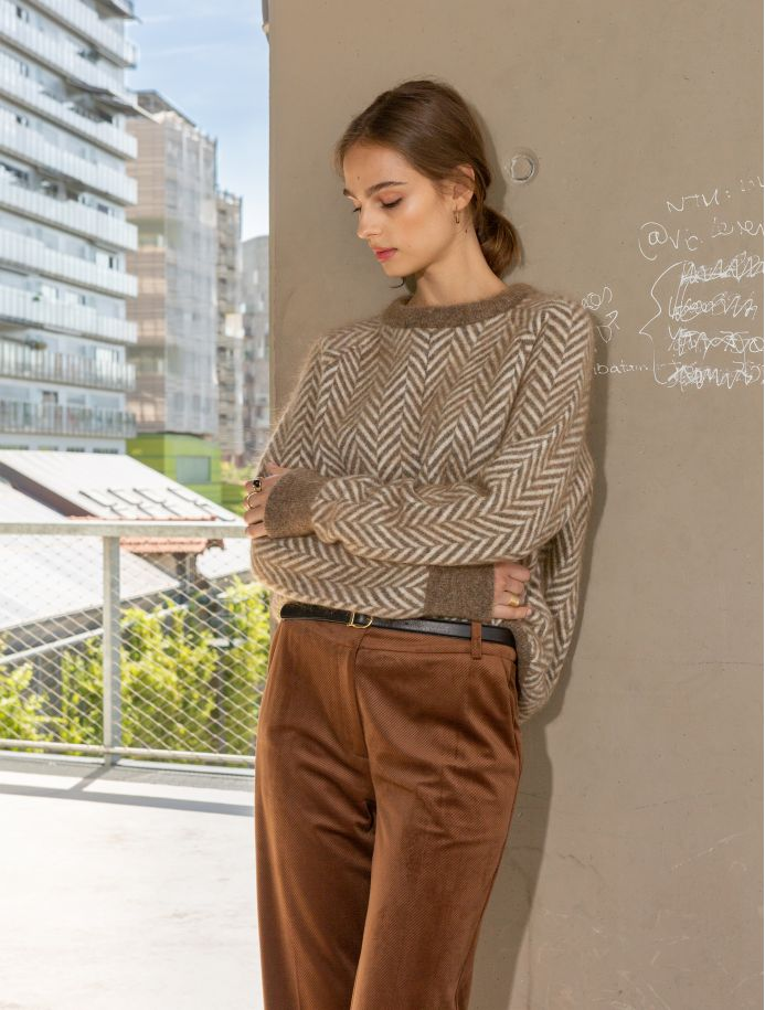 Coffe Olga sweater