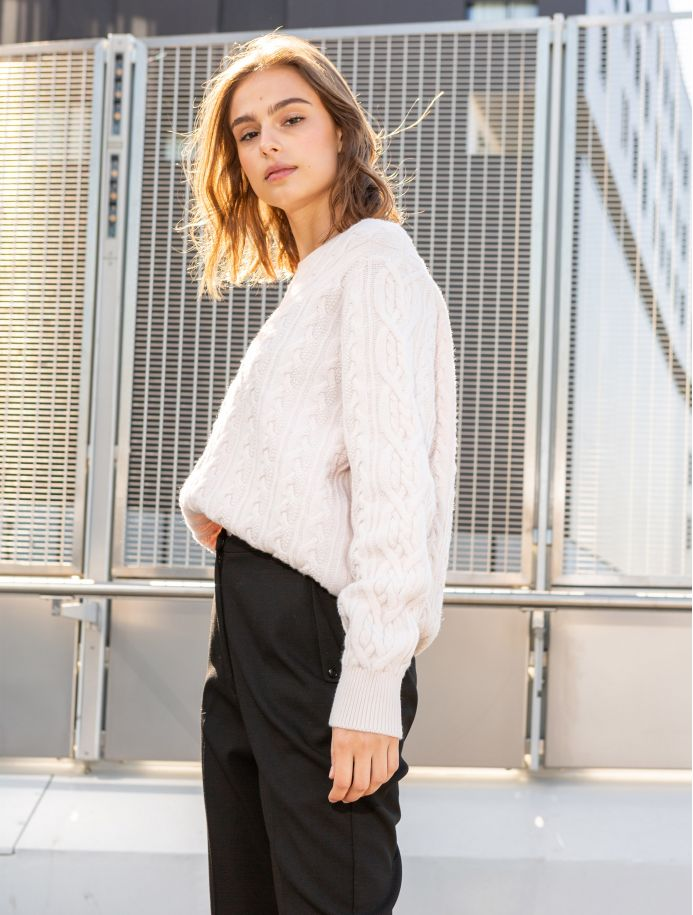 Écru Opaline sweater
