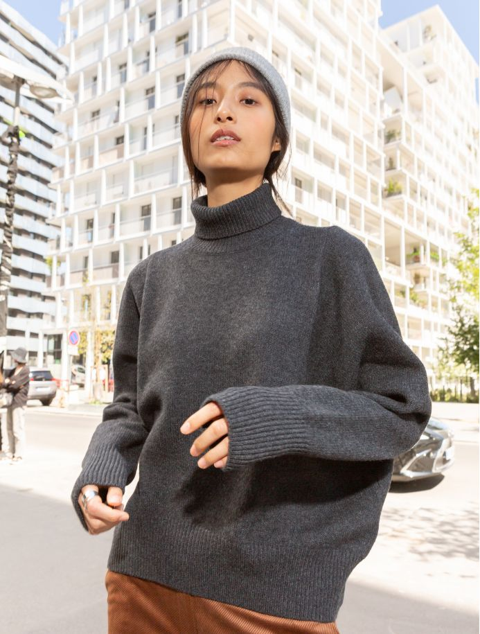 Pull Odile gris
