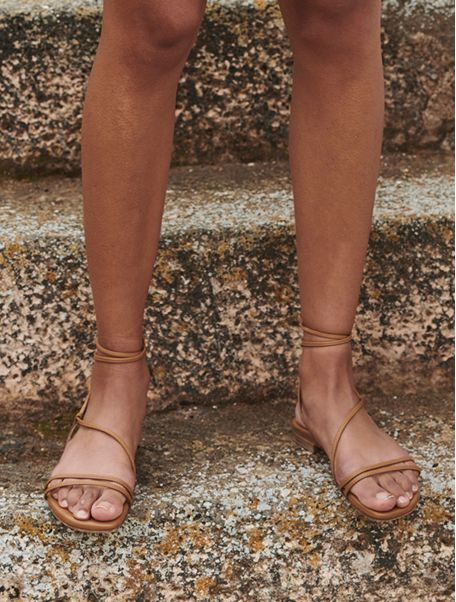 Beige Chantal sandals