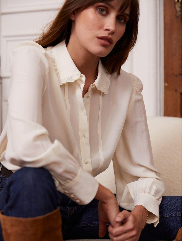 Crème Waliya shirt