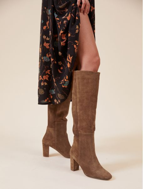Camel Laurie boots