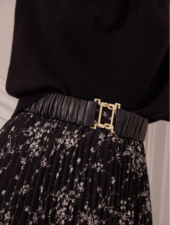 Noir Adna belt