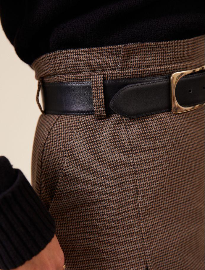 Noir Aline belt