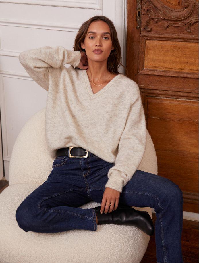 Crème Odie Sweater