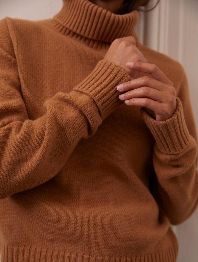 Châtaigne Orna sweater