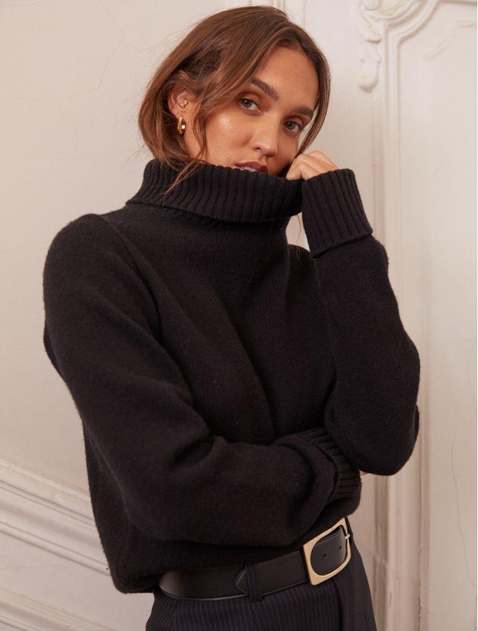 Noir Orna sweater